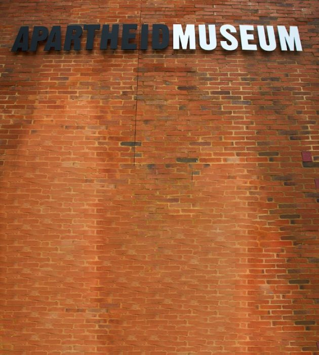 Touring The Apartheid Museum 13