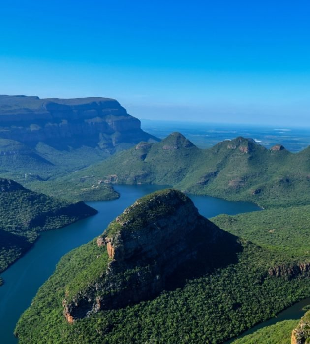 Heli Flight Over Blyde River Canyon 22