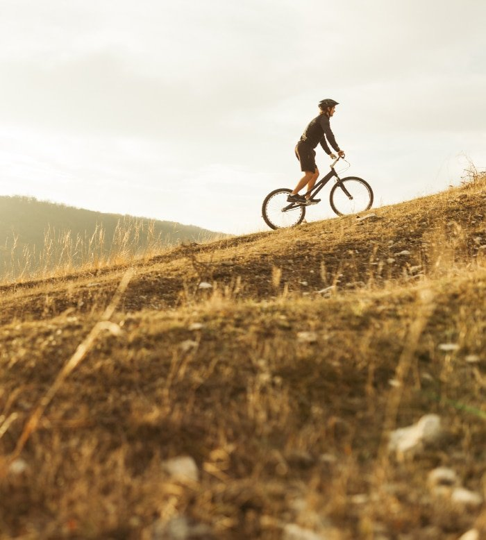 Mountain-Bike at High Altitude 2