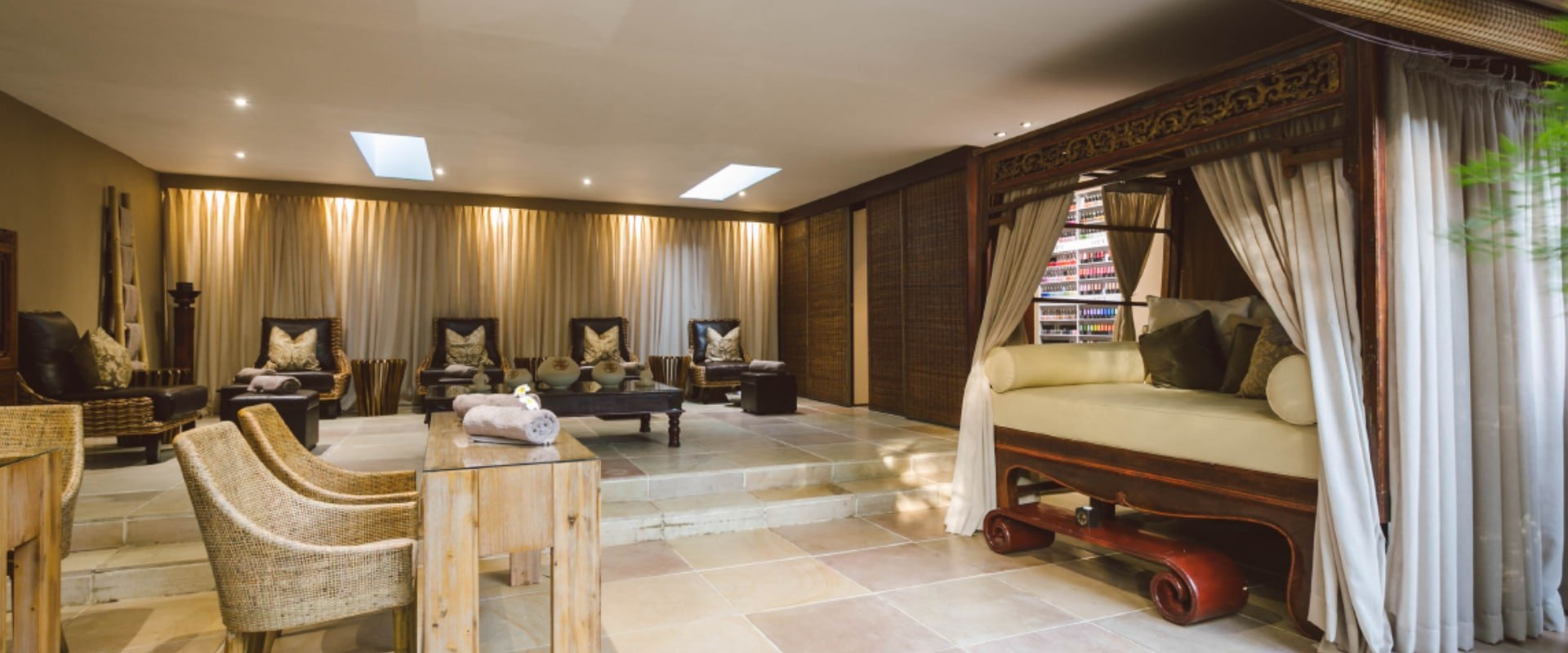 Relax and rejuvenate at the Spa