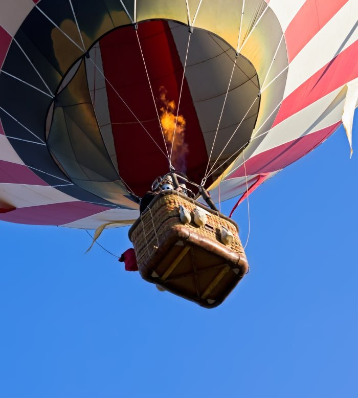 Hot-Air Ballooning Over Kruger 7