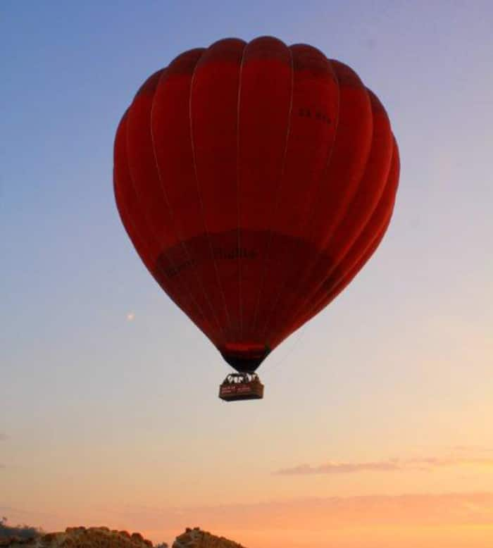Hot-Air Ballooning The Cradle 2