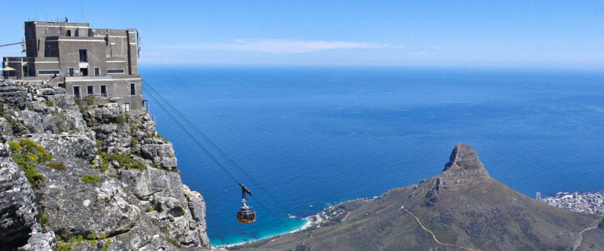 Take in breathtaking views from the top of Table Mountain