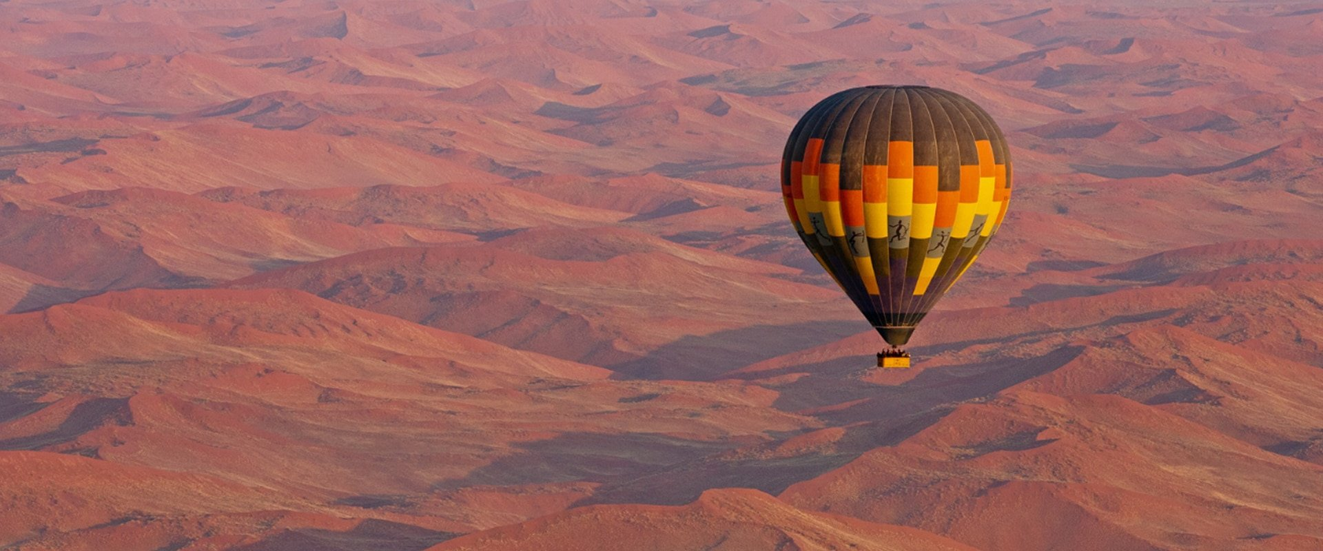 Float around in a hot-air balloon