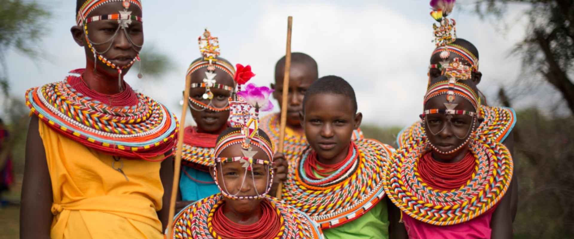 A day in the life of a traditional Masai village