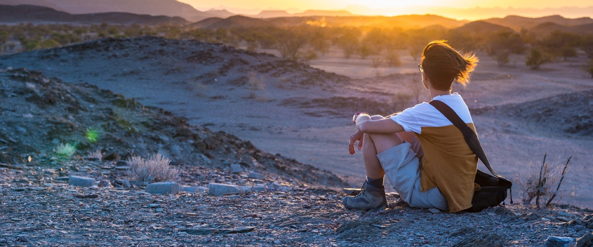 Absorb the scenic Twyfelfontein expanse