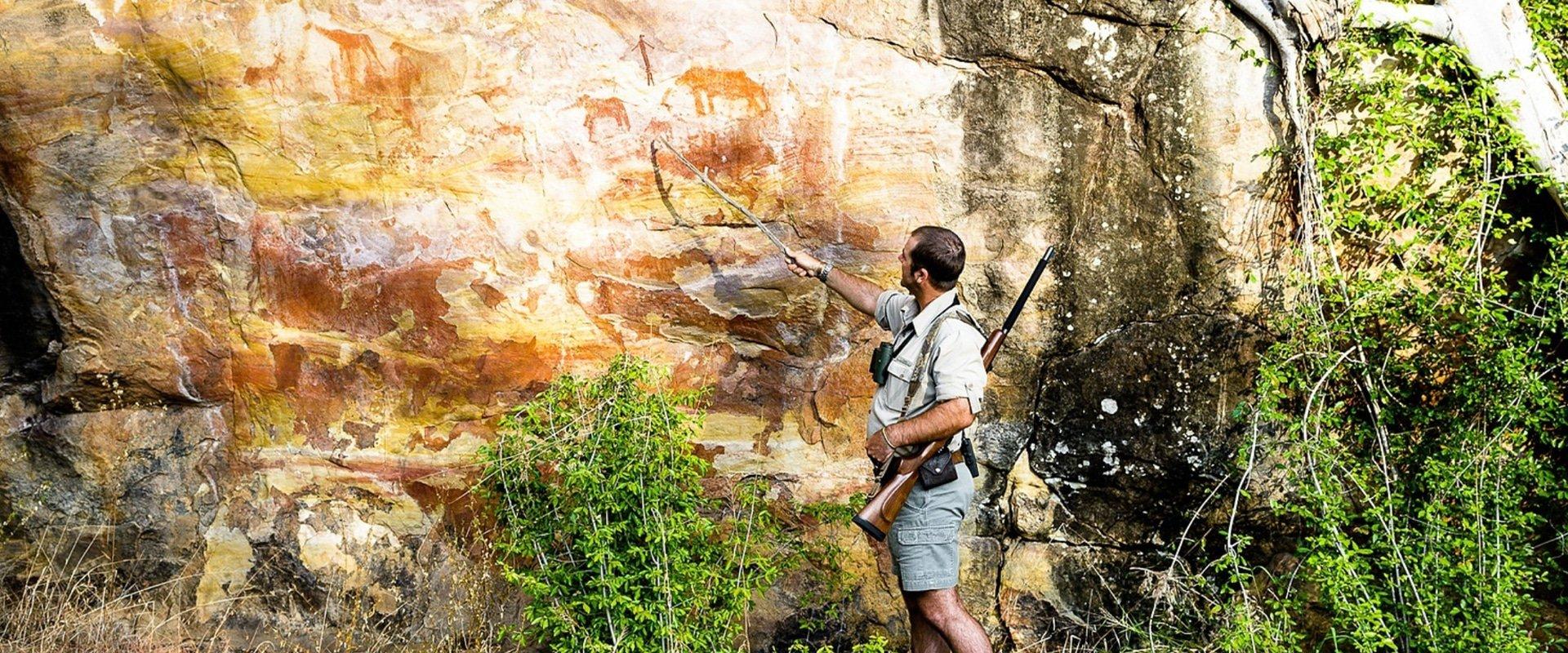 Visit the rich selection of San bushman rock art sites