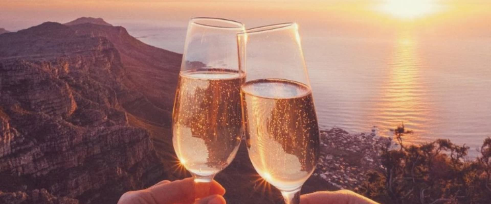 Celebrate the views from the top of Table Mountain