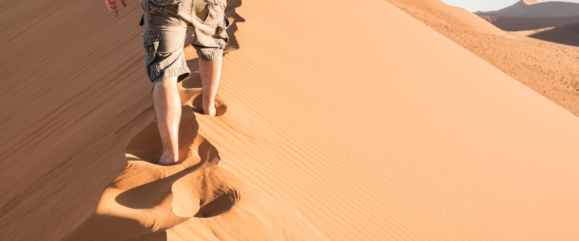 Climb the dunes at Sossusvlei