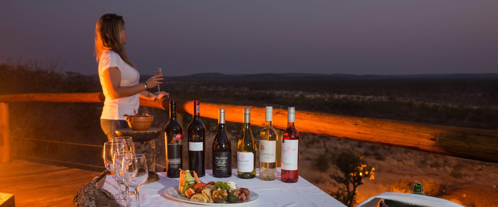 Dine under a starry Namibian Sky