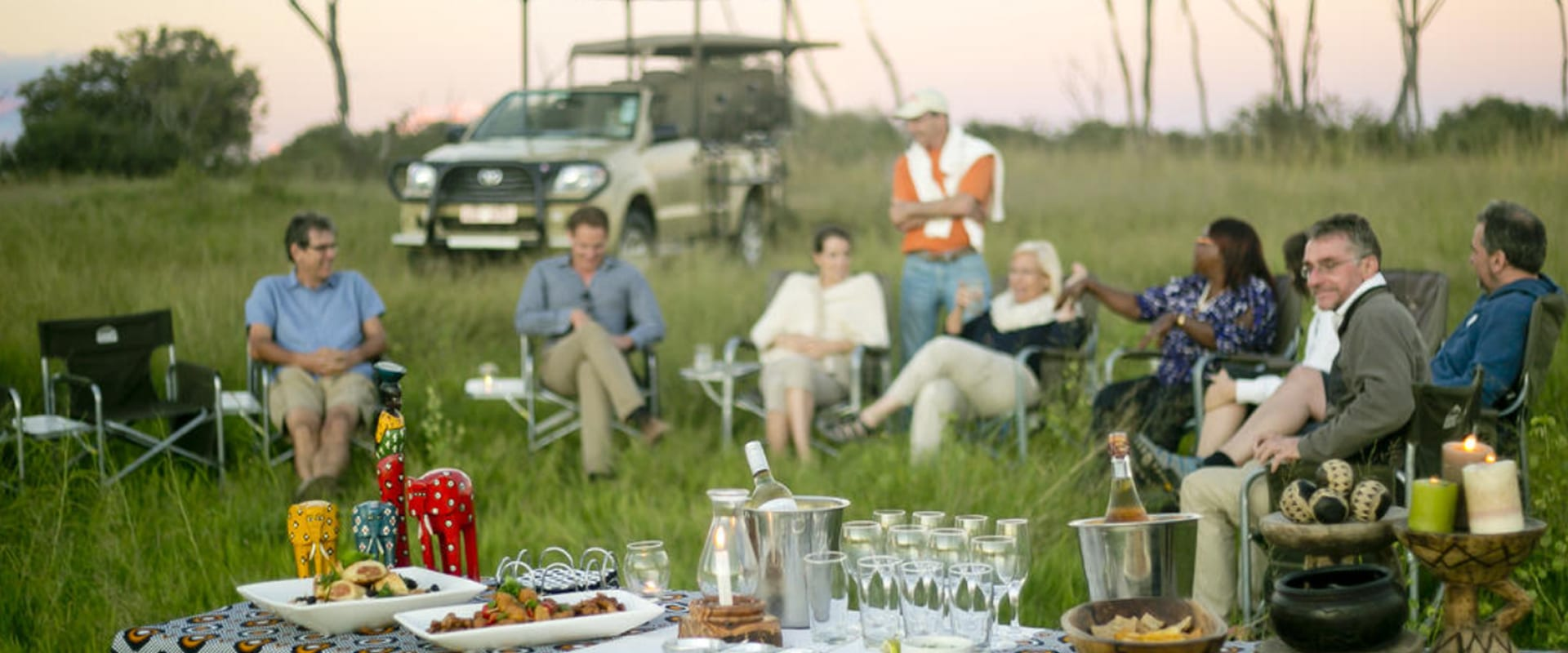 Venture out for a thrilling night game drive