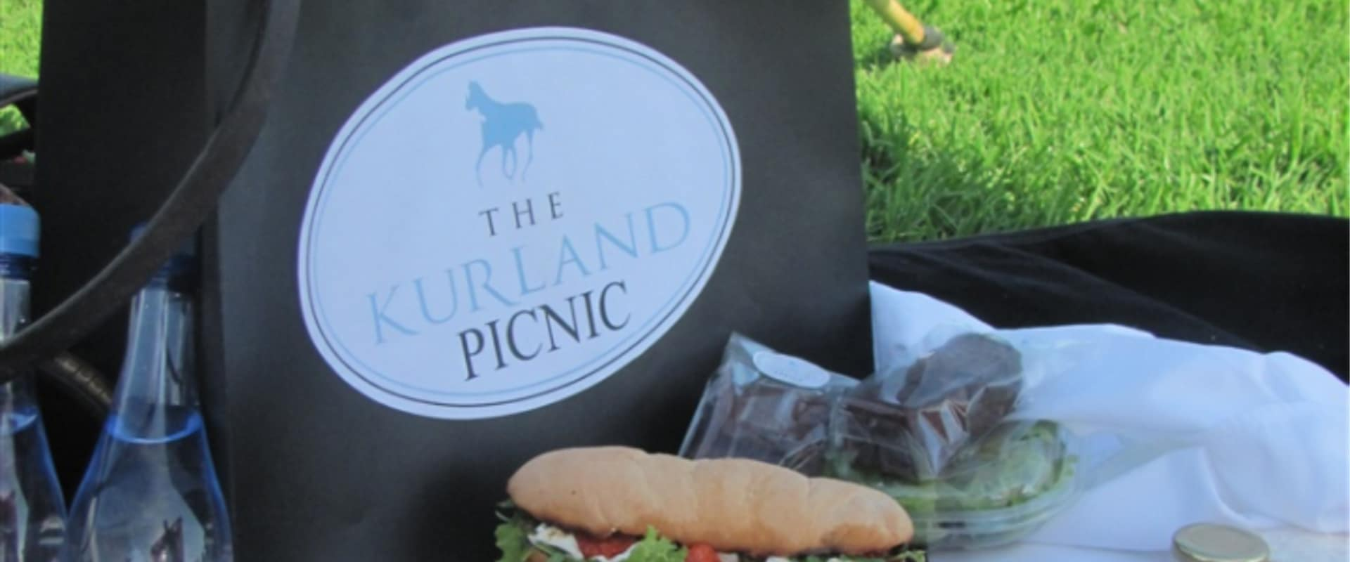 Family picnics on the beautiful estate