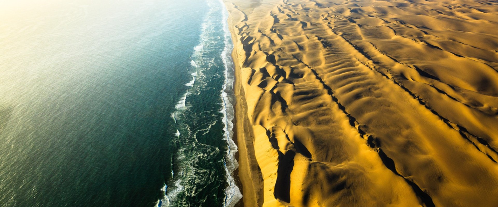 Fly over the Skeleton Coast