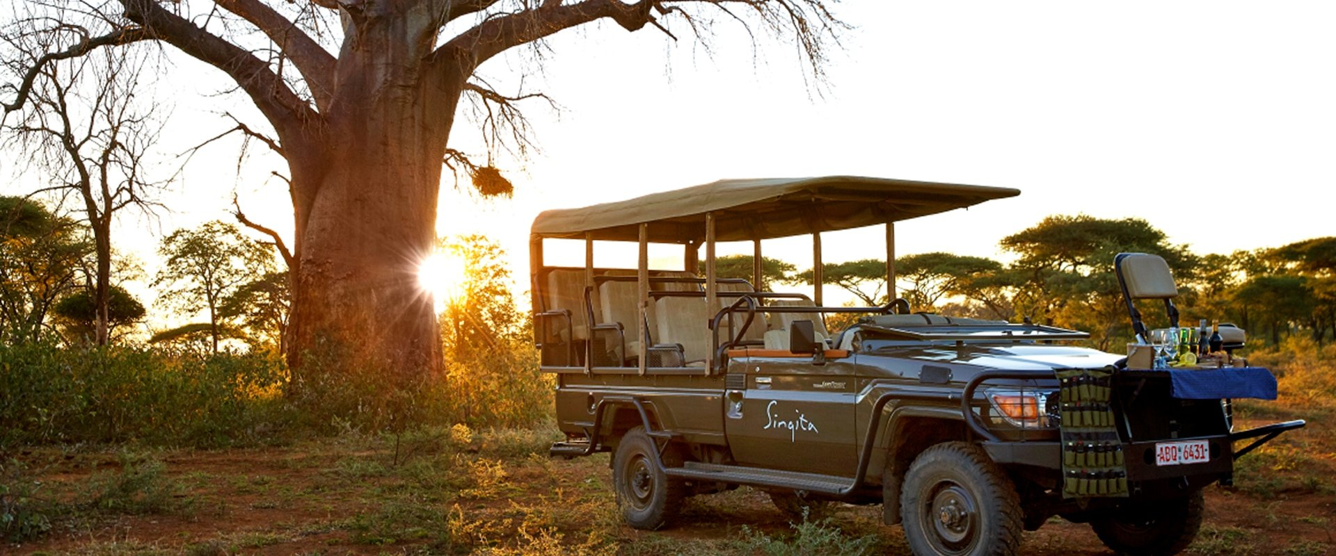 Get up close to Africa's wildlife on daily game drives with professional guides and trackers