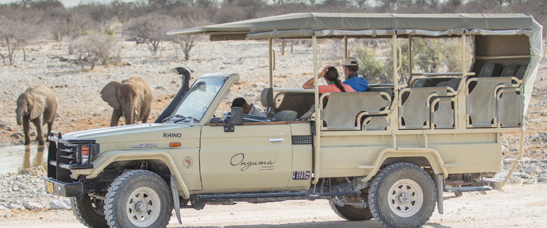 View plains game on an Onguma Game Drive