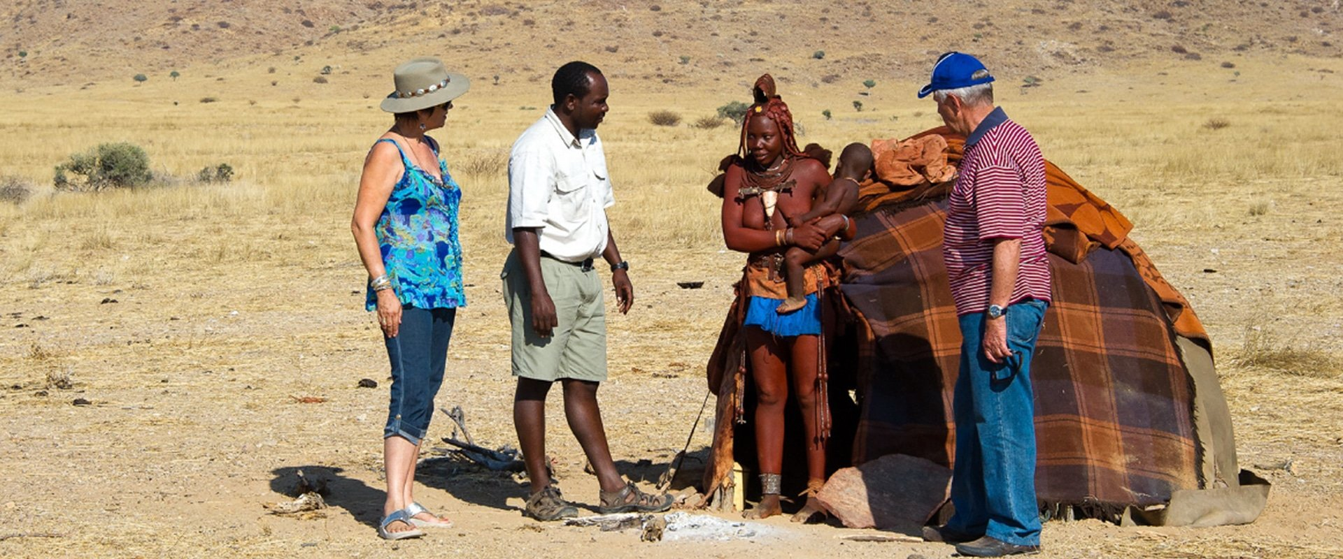 Engage with the Himba people