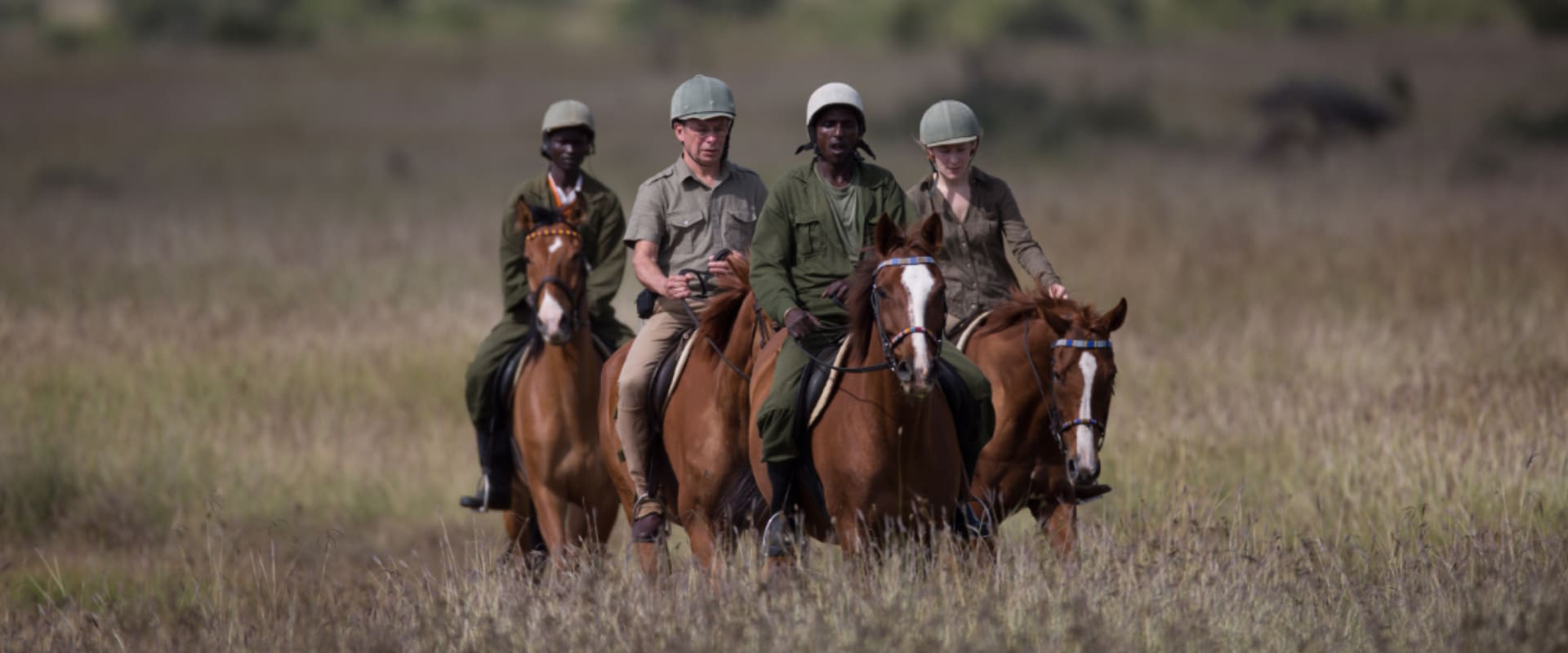Experience the unique exhilaration of horse riding on the plains