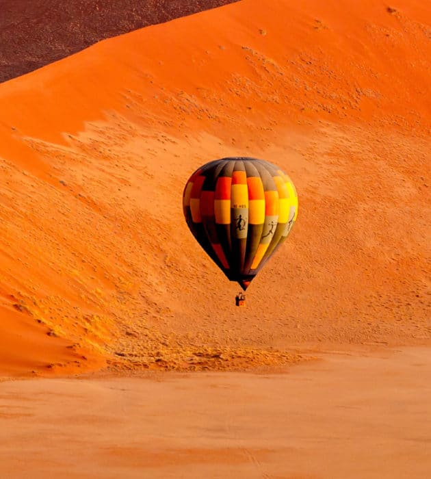 Hot-Air Ballooning The Namib 8