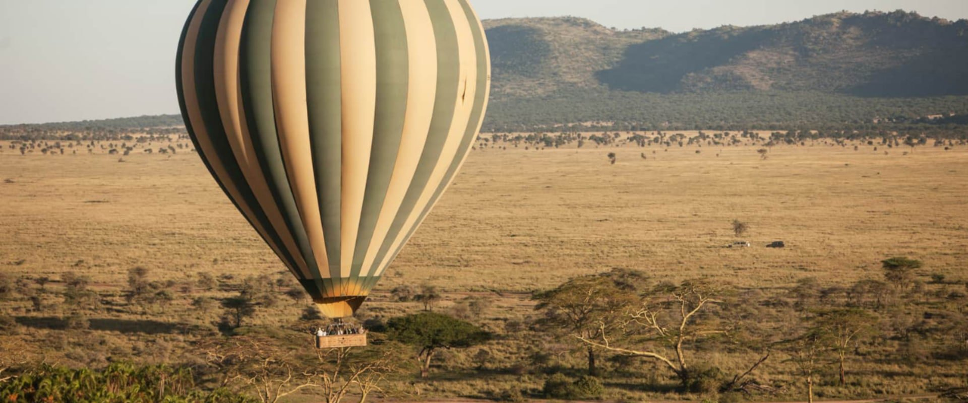See the Serengeti from a hot-air balloon