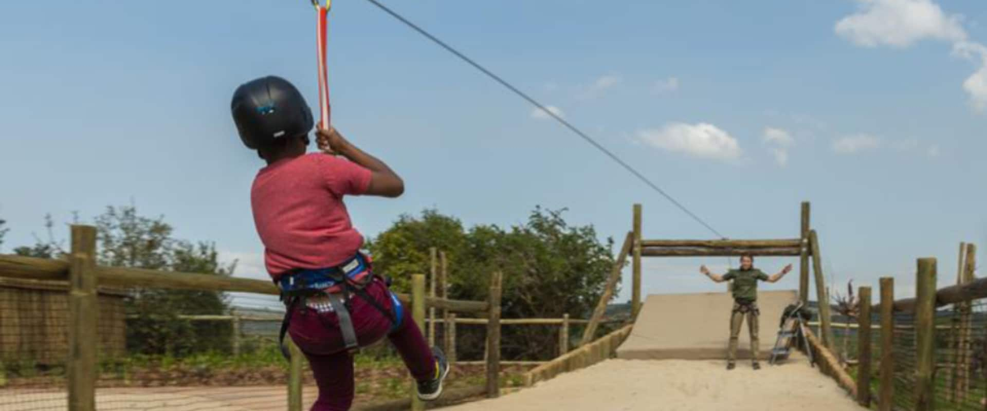Ziplining fun to thrill your children