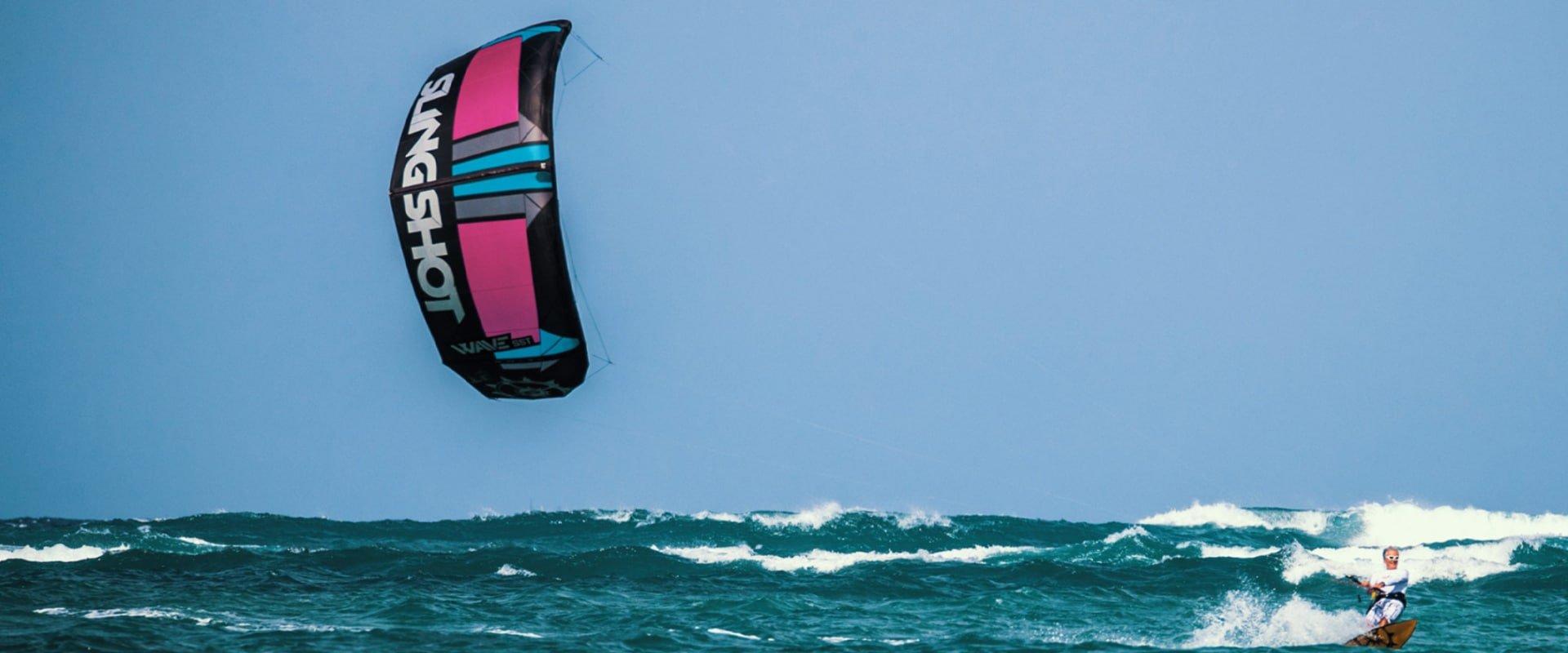 Delight in some kitesurfing