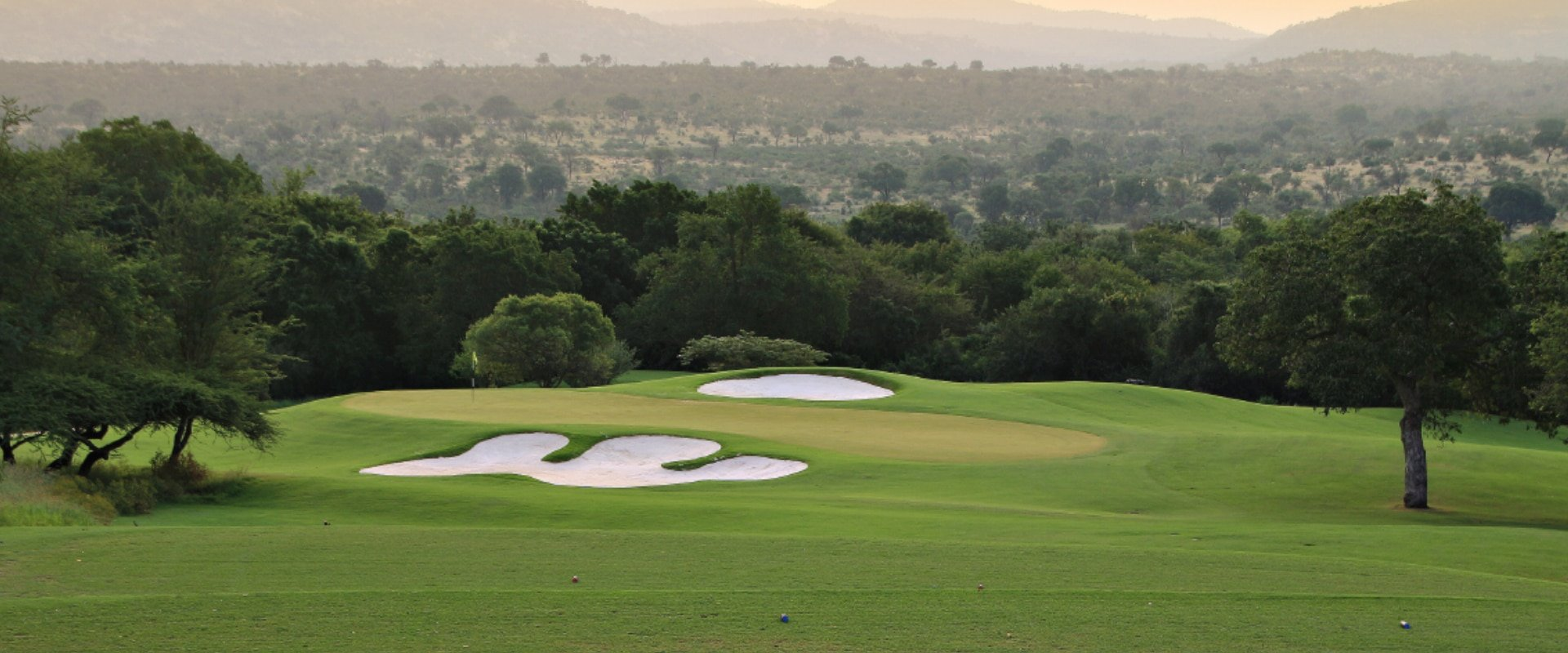 Golf at the famous Leopard Creek Golf Course
