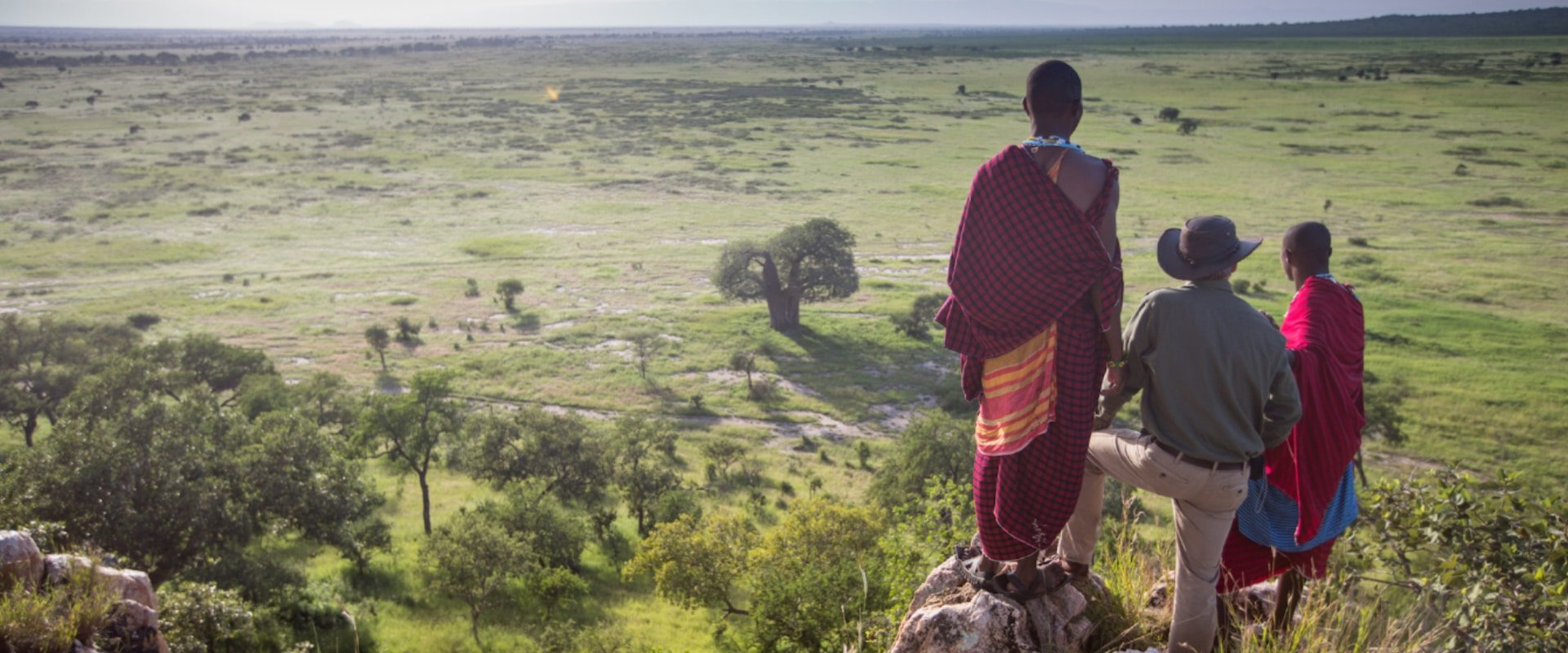 A culturally rich meeting of the Maasai people
