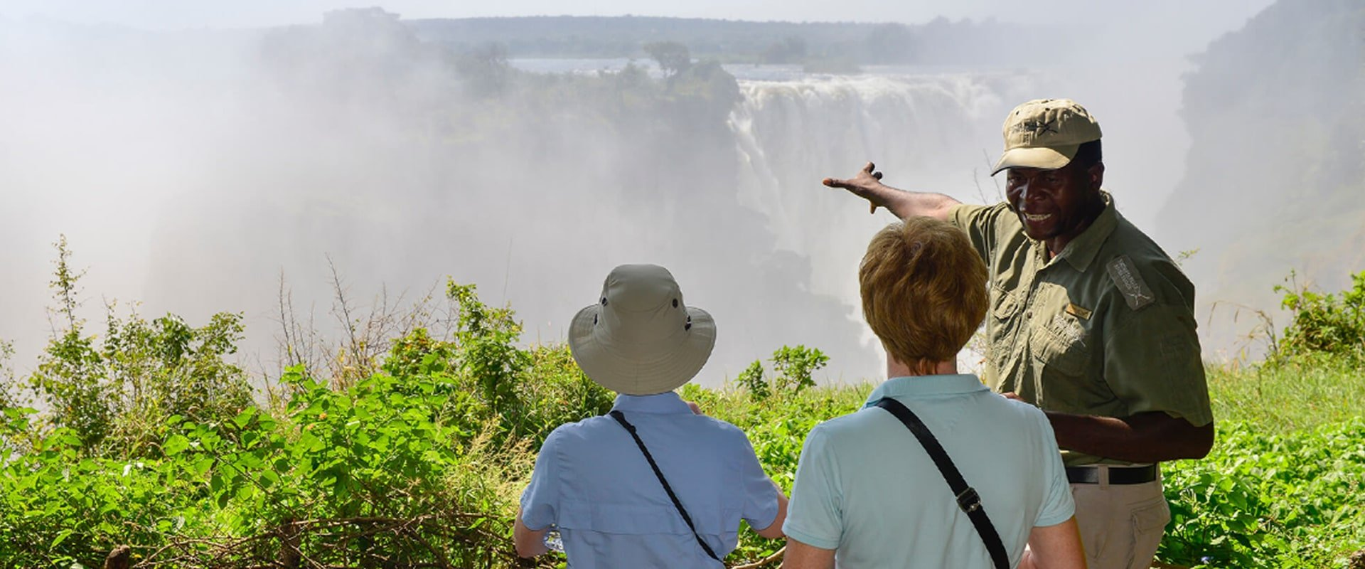 Be enthralled by the wonders of Victoria Falls on a private tour