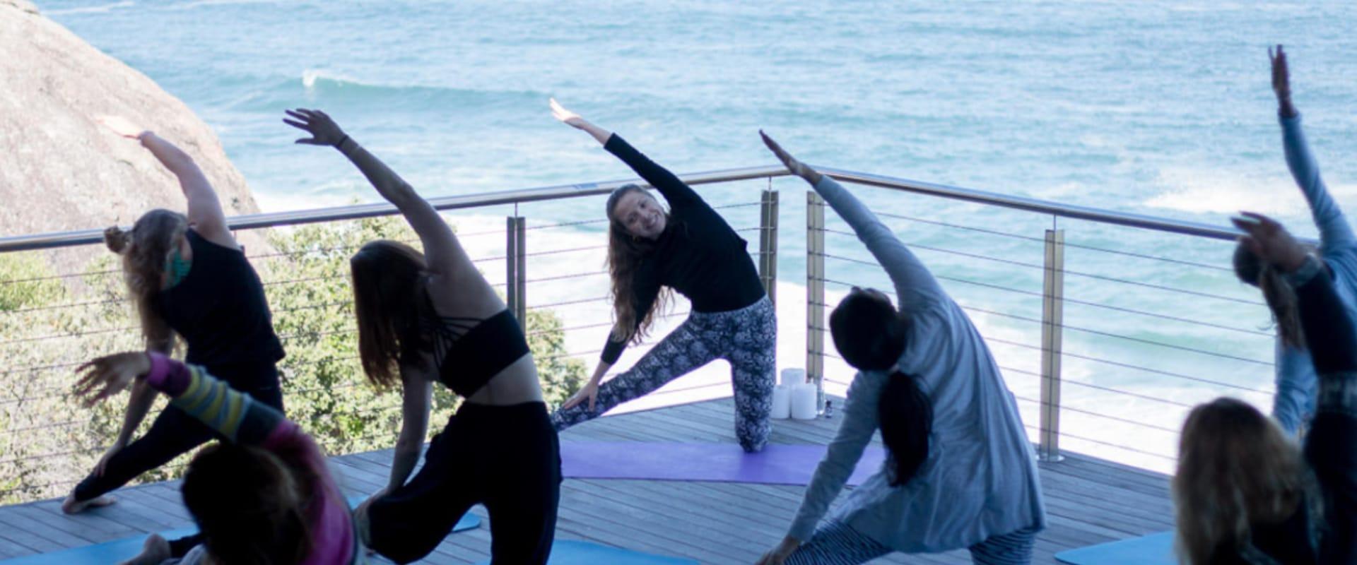 Private yoga classes in serene settings