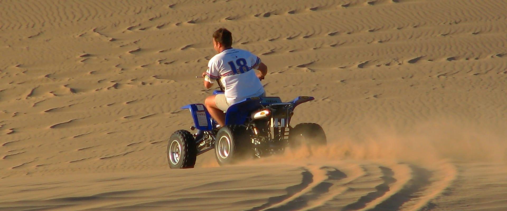 Ride a quad bike
