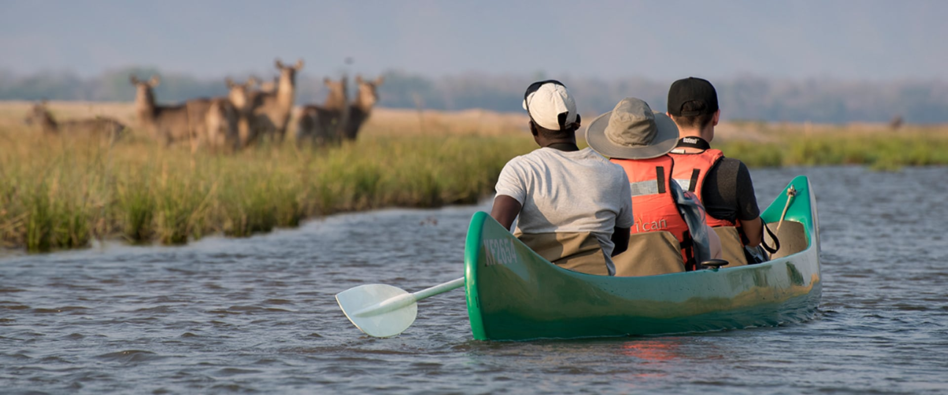 Explore the River of Life on a canoe safari