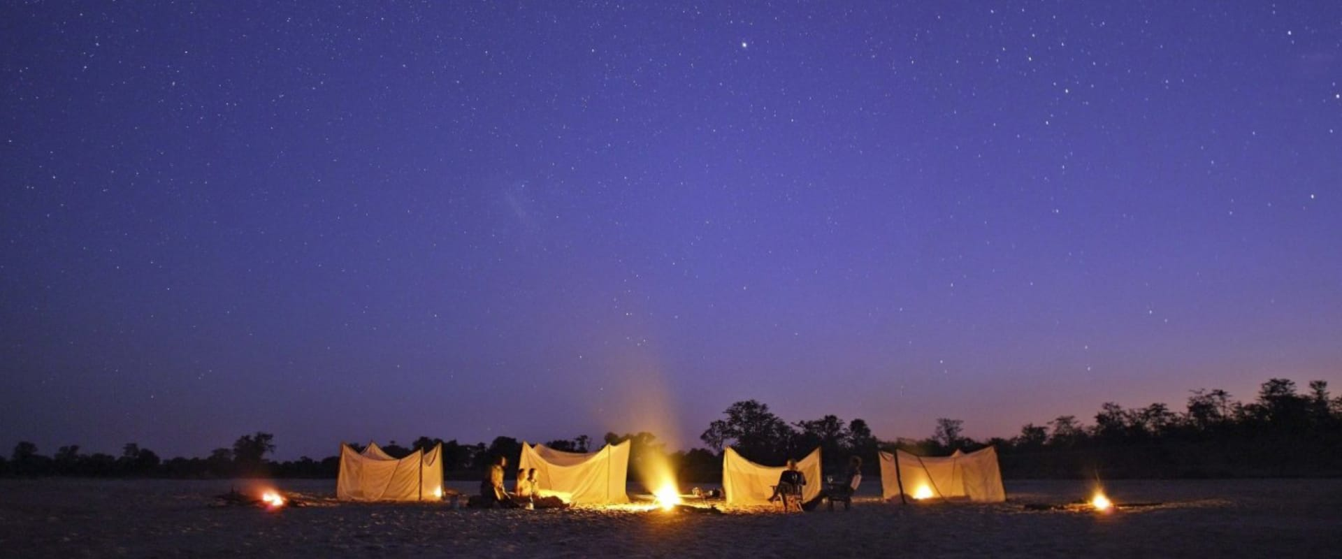 Drift off in a sleepout under the vast African starry sky