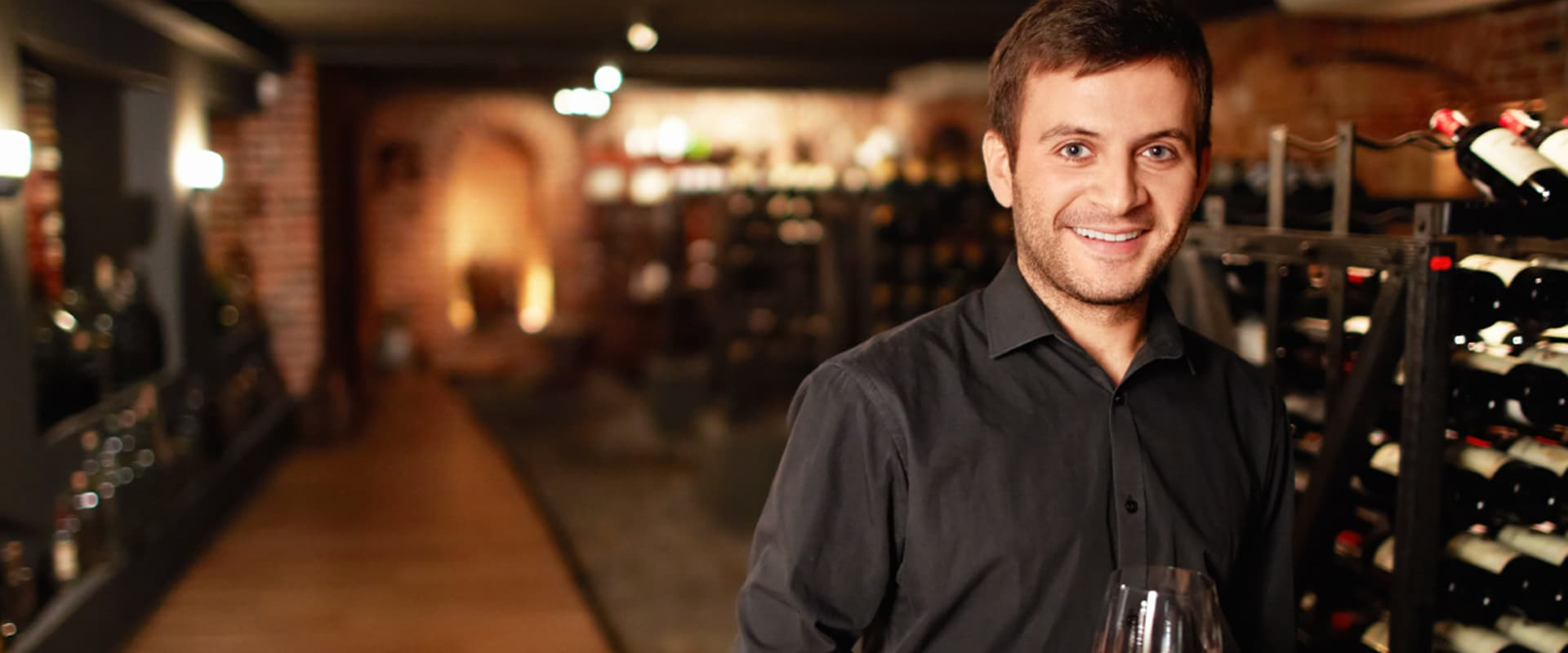 Sipping wine with your private sommelier