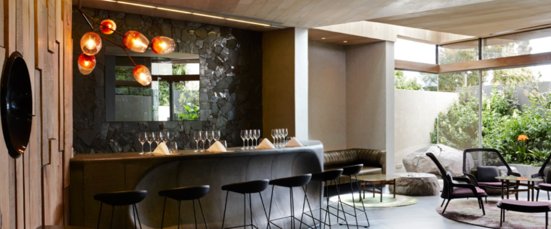 Experience a private wine tasting at 'home' with your own sommelier