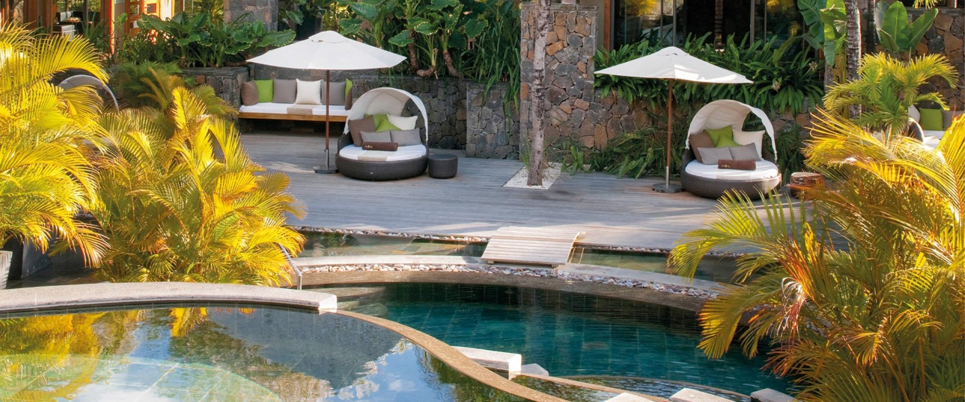 Experience a world of pampering at this world-class spa