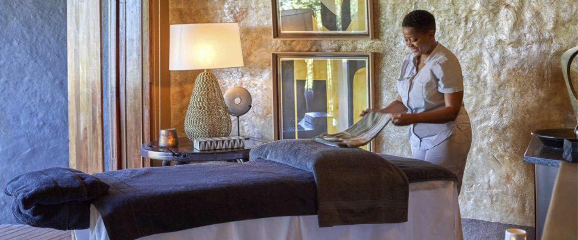 Unwind in the tranquillity of the spa