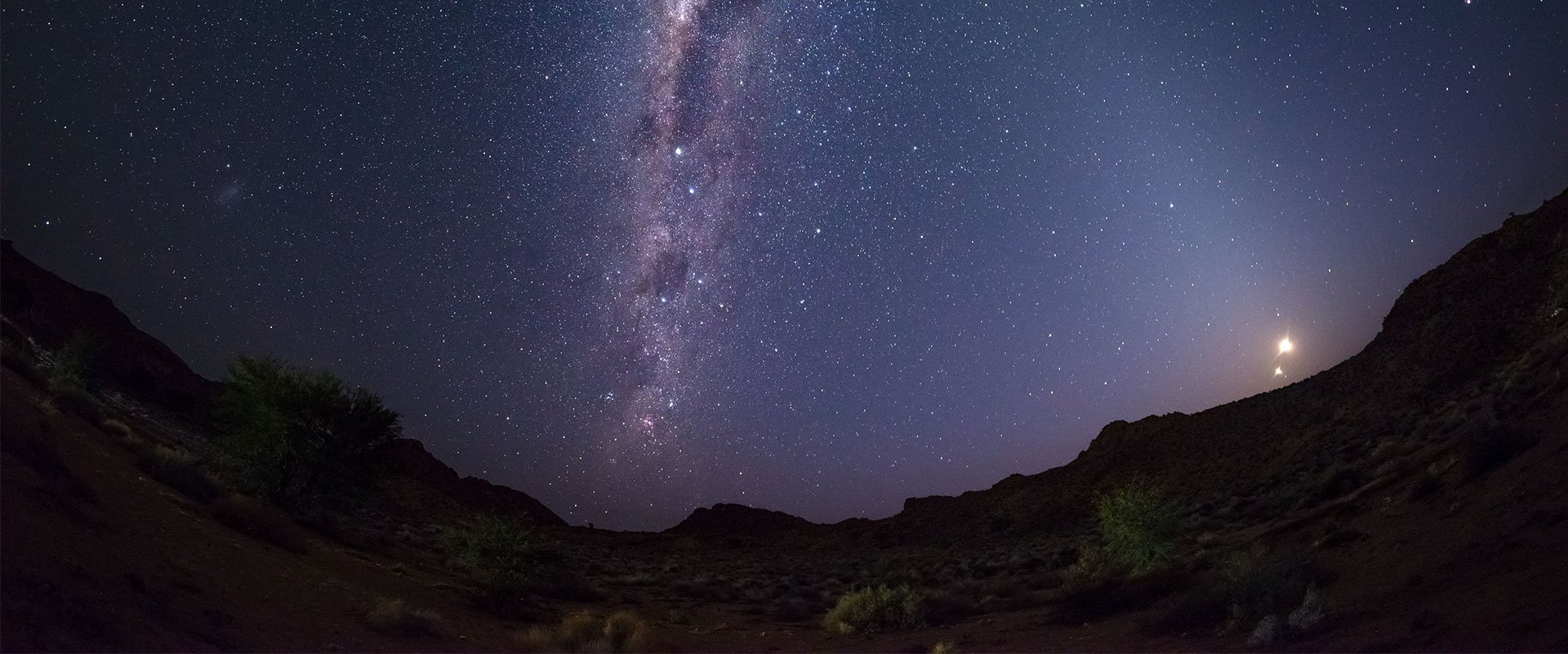 Be astounded by the African starscape