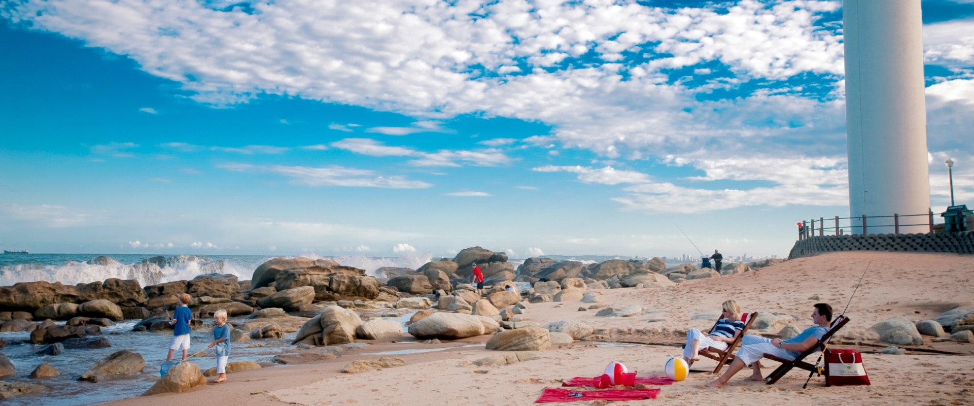 Be adventurous on the beach