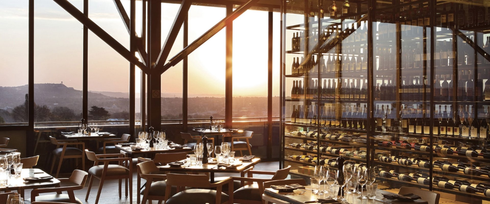 Dine at one of Johannesburg's world class restaurants