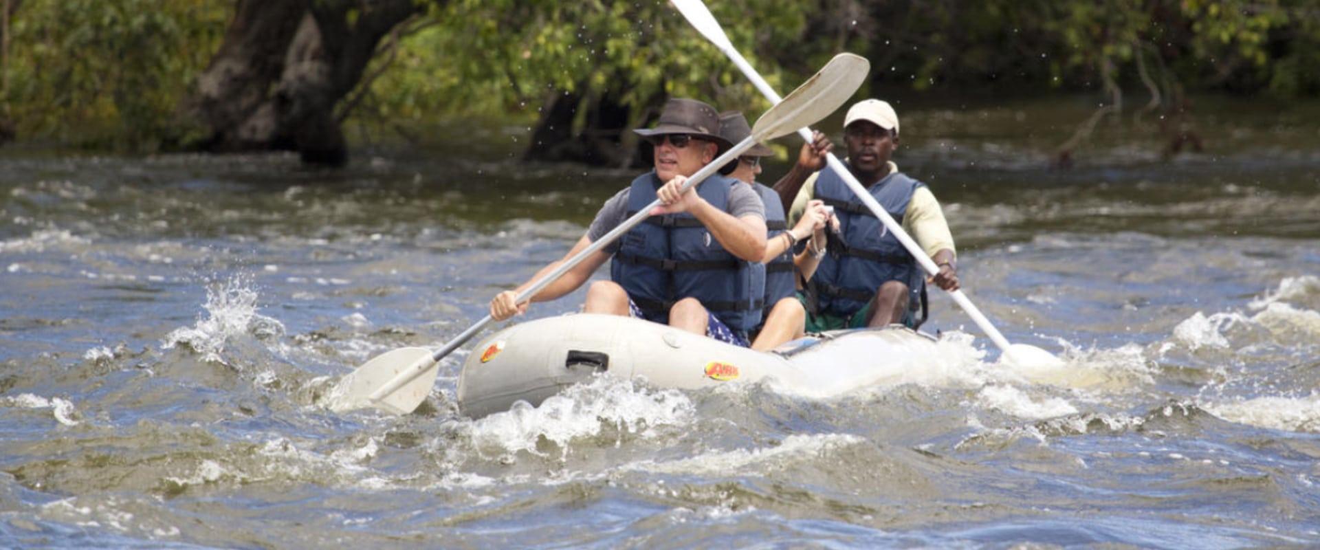 Engage your adventurous spirit as you canoe the Zambezi