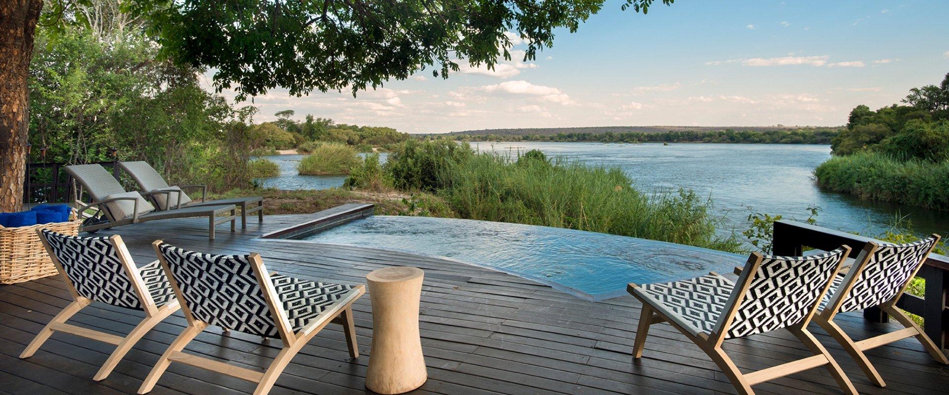 Royal Chundu Zambezi Island Lodge