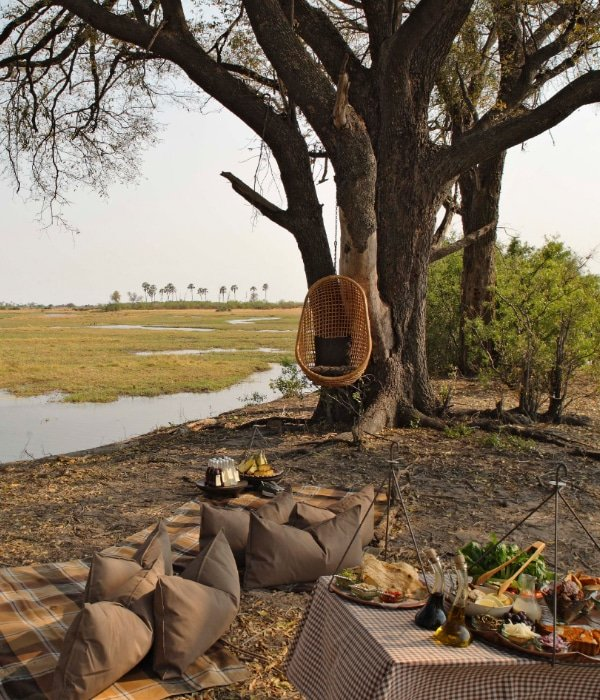 andBeyond Sandibe Okavango Safari Lodge 10