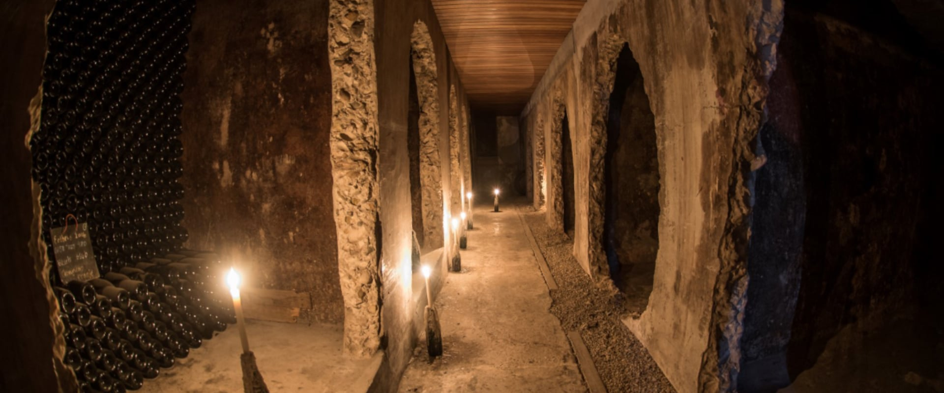 Be amazed with a visit to an underground wine cellar