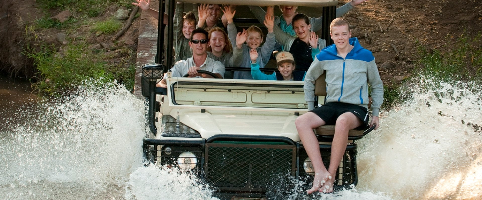 Enjoy thrilling game drives with sightings of the Big 5, and endangered Wild Dogs