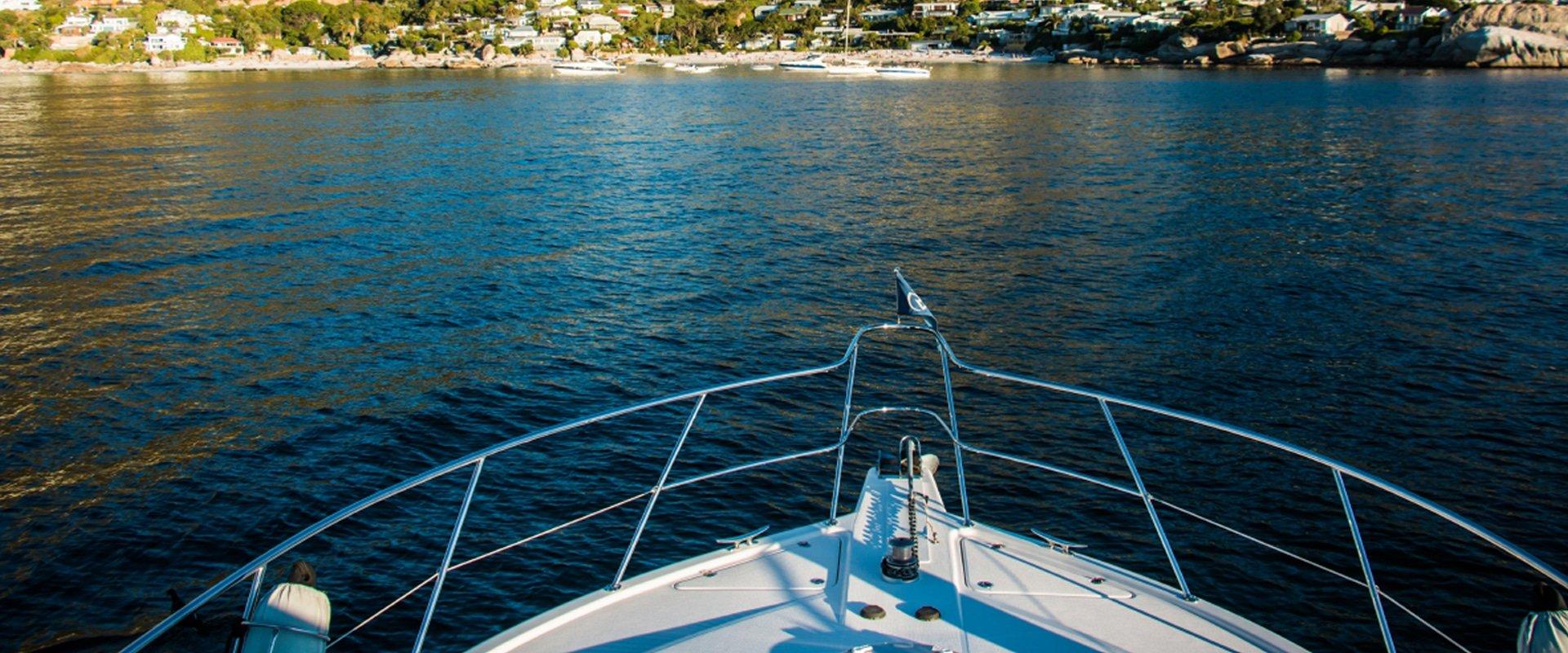 Enjoy a luxurious sailing trip to Cape Town's beautiful Clifton beach